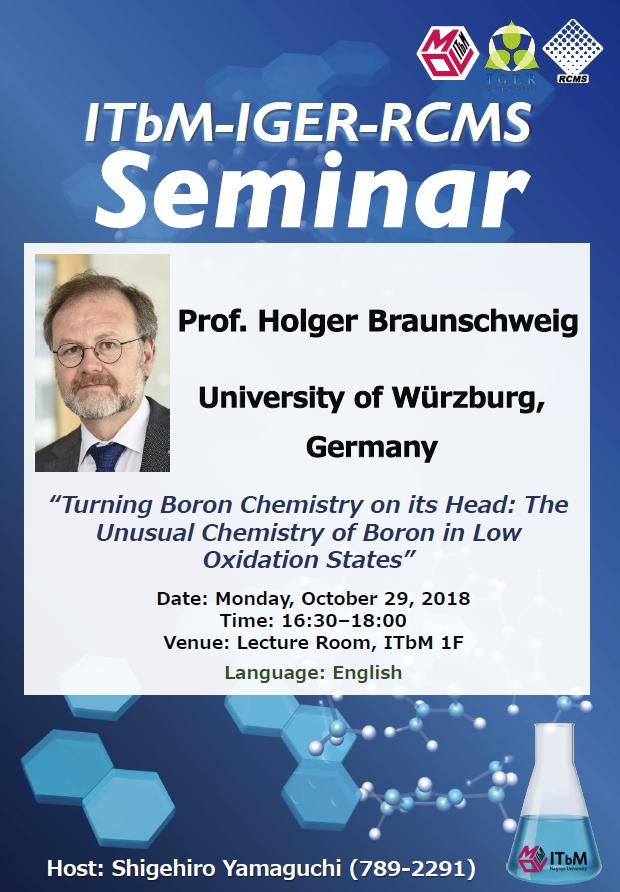 20181029_Holger Braunschweig  poster-1
