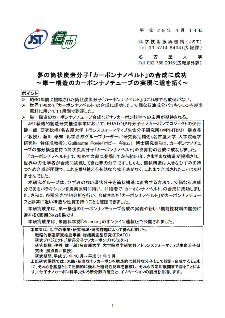 http://www.itbm.nagoya-u.ac.jp/ja/research/20170414_CarbonNanobelt_JP_PressRelease_ITbM.png